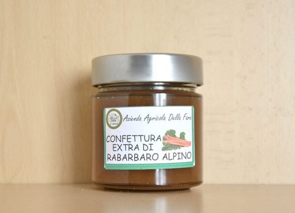 Confettura Extra di Rabarbaro Alpino