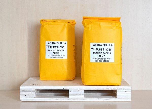 Farina Gialla Rustica - 10% Grano Saraceno