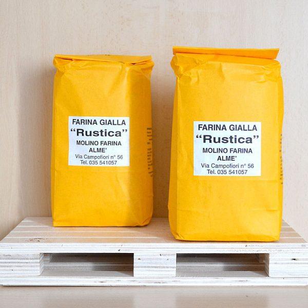 Farina Gialla Rustica – 10% Grano Saraceno