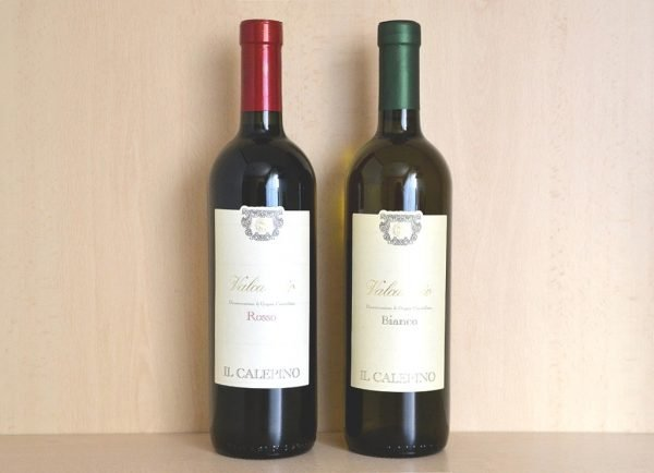 Vino Valcalepio doc rosso + bianco - vendita online