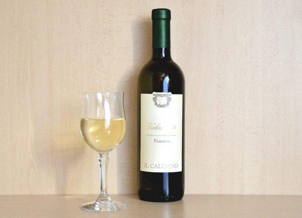 Vino bianco Valcalepio 1 bottiglia