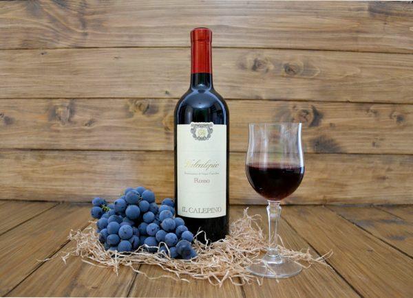 Vino rosso Valcalepio DOC