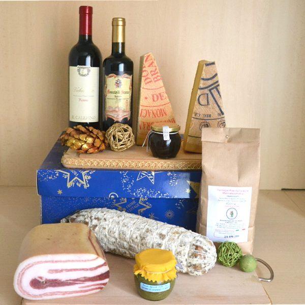 Ciòch: confezione natalizia maxi con 8 prodotti di Bergamo