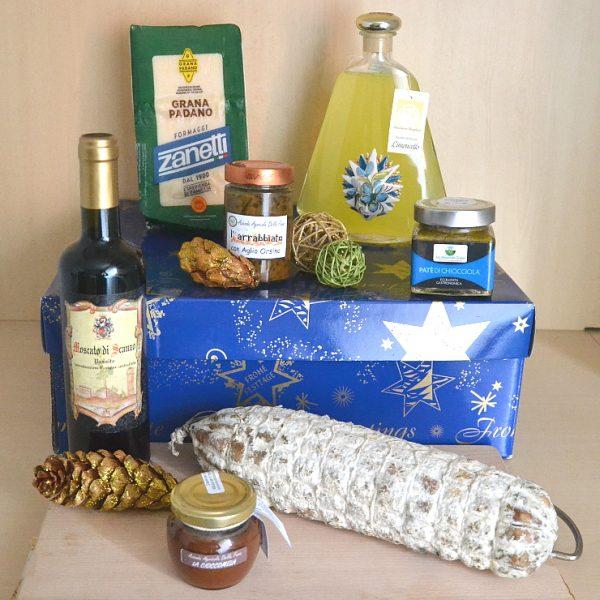 Tóca: confezione natalizia con dolci e salati