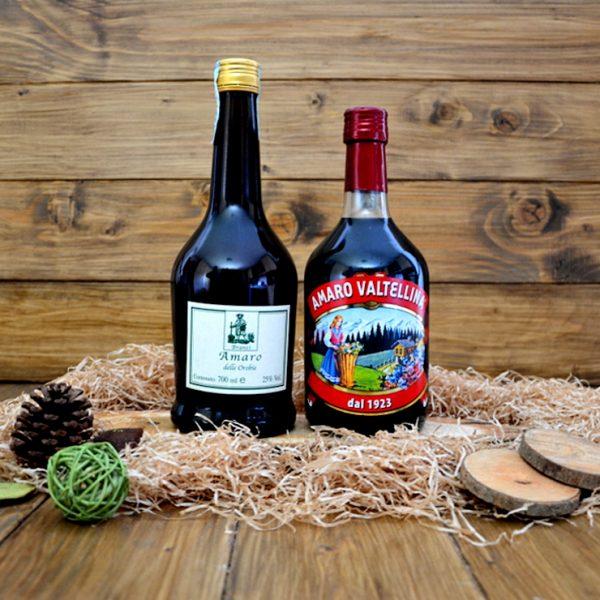 Amaro delle Orobie (Branzi) e Amaro della Valtellina
