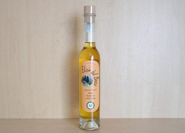Elisir del bosco - liquore al rabarbaro