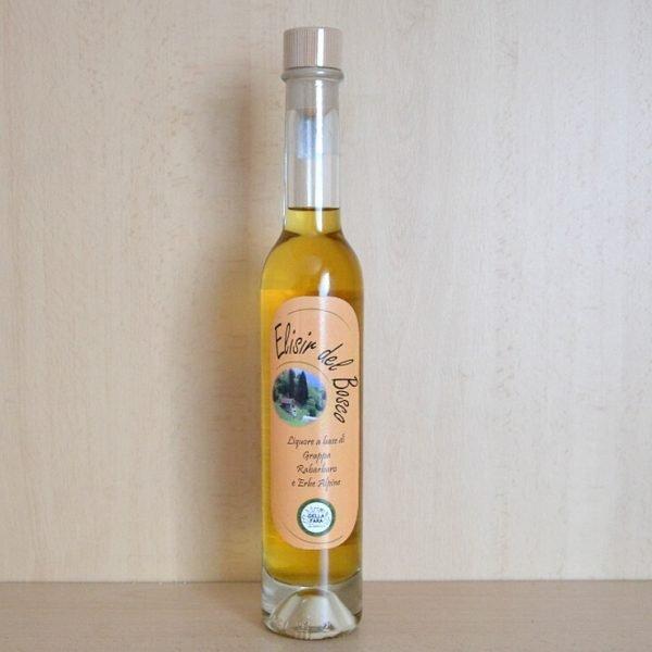 Elisir del bosco – liquore al rabarbaro, grappa e 5 erbe