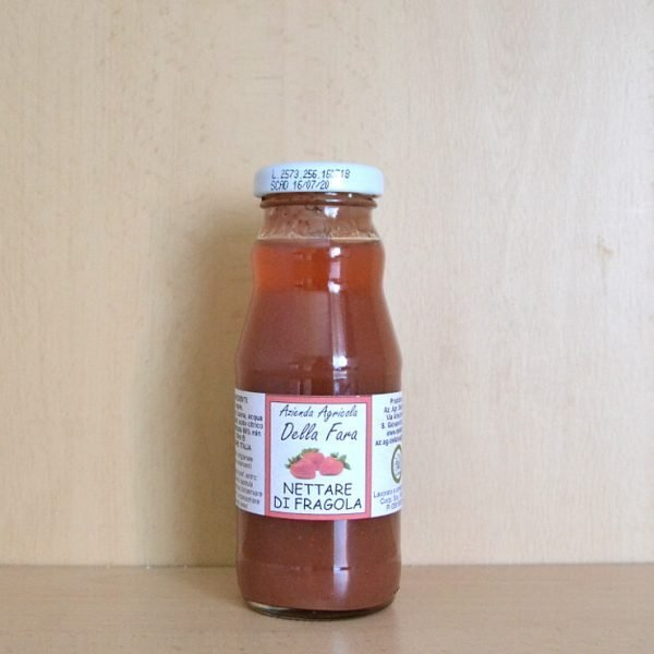 Nettare di fragola (polpa di fragole arricchita)