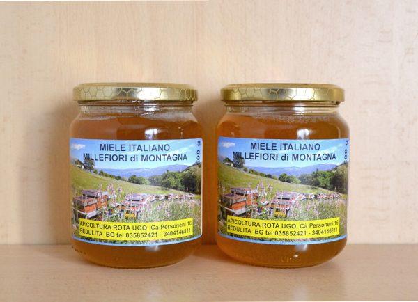 Vendita miele millefiori online - 2 vasetti