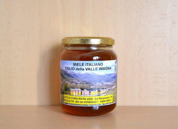Vendita miele di tiglio - 1 vasetto