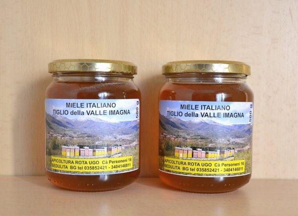 Vendita miele di tiglio - 2 vasetti