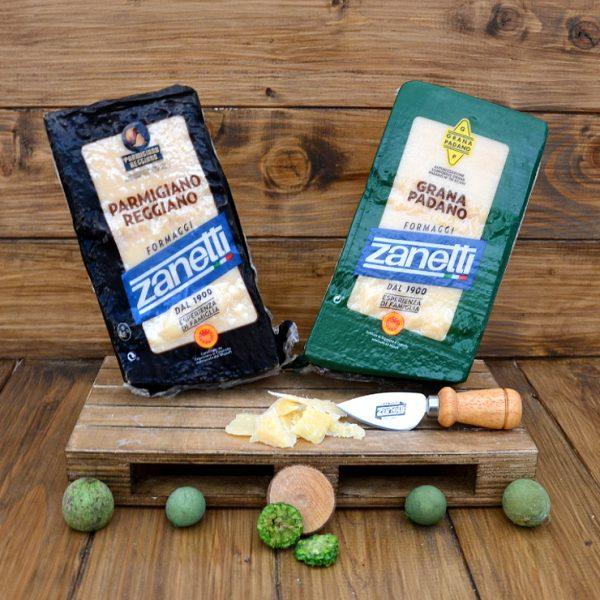 Parmigiano Reggiano Dop e Grana Padano vendita online