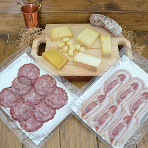 Kit degustazione Salumi e Formaggi Bergamaschi