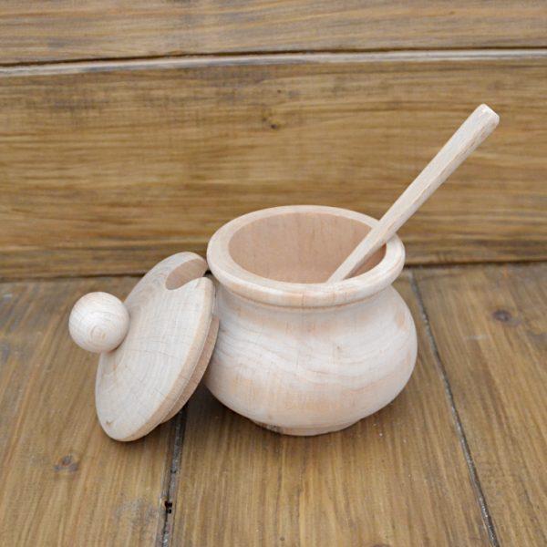 Zuccheriera in legno